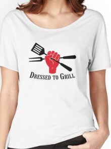 Dressed to Grill Women's Relaxed Fit T-Shirt