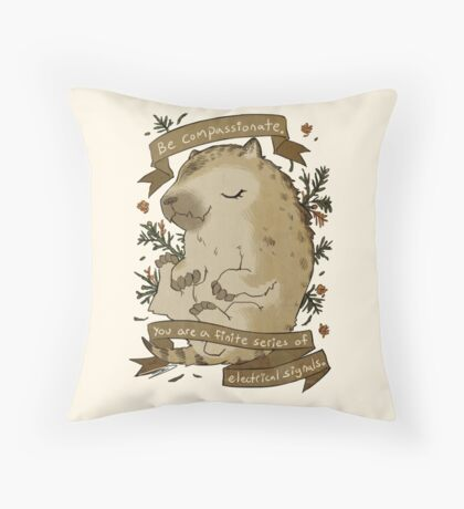Be Compassionate Throw Pillow