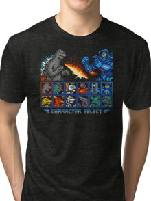 KAIJU FIGHTER Tri-blend T-Shirt