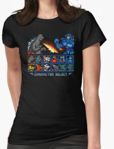 KAIJU FIGHTER Womens Fitted T-Shirt
