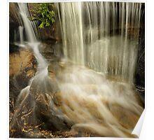 Hidden cascades, Mount Buffalo Poster