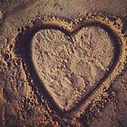 Sand Heart by JFairbanks