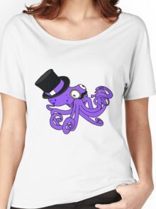 Gentleman Octopus Women's Relaxed Fit T-Shirt