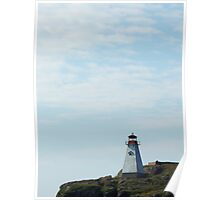 Lighthouse - Petite Passage, NS Poster