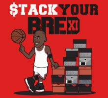 "VICTRS ""Stack Your Bred"" T-Shirt"