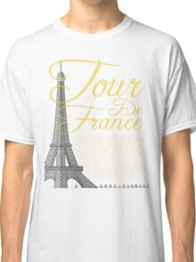 Tour De France Eiffel Tower Classic T-Shirt
