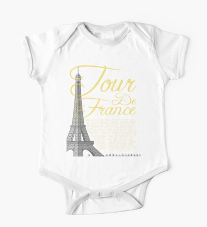 Tour De France Eiffel Tower One Piece - Short Sleeve