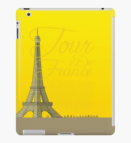 Tour De France Eiffel Tower iPad Case/Skin