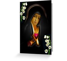 ✿♥‿♥✿MY VERSION ..TEARS OF THE VIRGIN MARY..PICTURE/CARD✿♥‿♥✿ Greeting Card