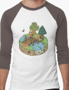 New Leaf Men's Baseball ¾ T-Shirt