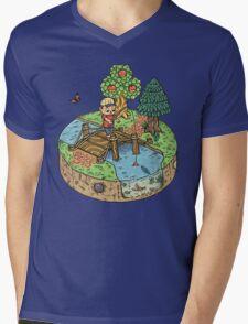 New Leaf Mens V-Neck T-Shirt