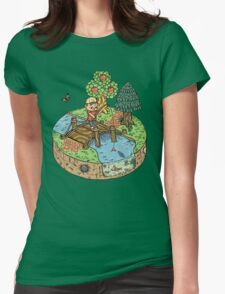 New Leaf Womens Fitted T-Shirt