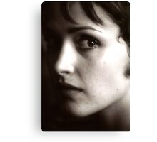 Rose Byrne - beautiful waif - 2000 Canvas Print