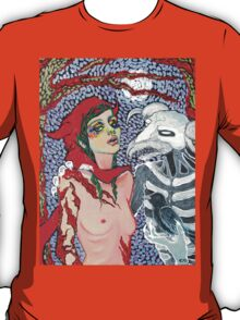 Original Acrylic Painting (Meeting With Aka Manah) T-Shirt