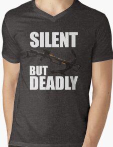 Silent But Deadly Mens V-Neck T-Shirt