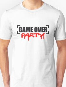 Game Over Party T-Shirt