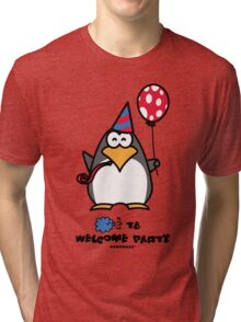 Typhoon T8 Welcome Party - Hong Kong Tri-blend T-Shirt