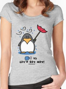 Typhoon T3 Let's get wet - Hong Kong Women's Fitted Scoop T-Shirt