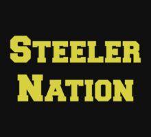 Steeler Nation One Piece - Short Sleeve