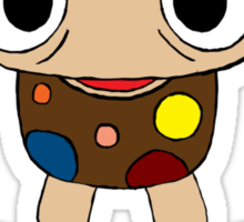 Mushroom Kid Sticker