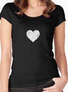 Sandman: Desire's Heart Sigil Women's Fitted Scoop T-Shirt