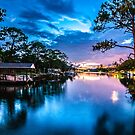 sunset blues by Alexandr Grichenko
