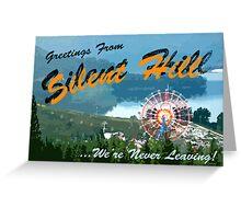 Silent Hill postcard Greeting Card