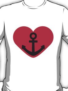 Anchor Heart T-Shirt