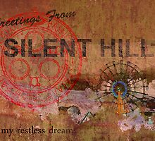 Silent Hill postcard by Christopher Knight Johnson