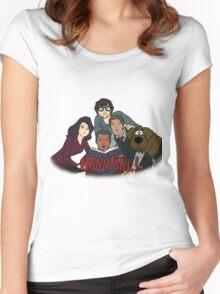 Scooby-Doo Hannibal Women's Fitted Scoop T-Shirt