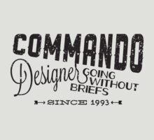Commando Designer by Aaron Blakemore