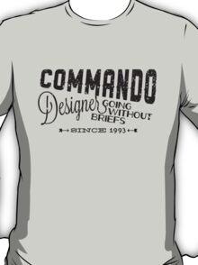 Commando Designer T-Shirt