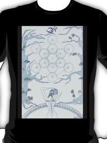 Original Ink Drawing (Sacred Geomancy) T-Shirt