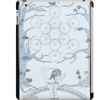 Original Ink Drawing (Sacred Geomancy) iPad Case/Skin