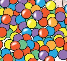 Bazinga Pit Sticker
