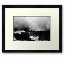 Waves At Snapper Rocks Framed Print