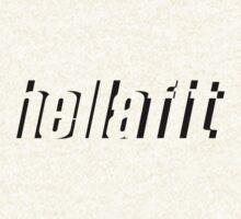 Hellafit (Abstract Black) by Levantar