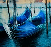 Impressions of gondolas by Geraldine Lefoe