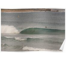 Wave breaking Warrnambool 20130604 5150 Poster