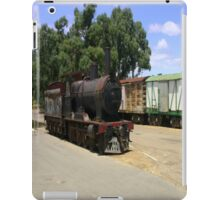 An abandoned locomotive & Carriages iPad Case/Skin