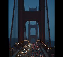 The Golden Gate by PhotoMel