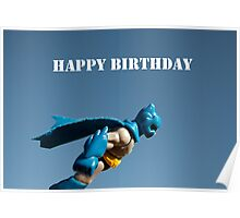 batman birthday Poster