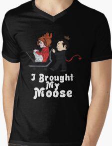 I Brought My Moose - Cute Version Mens V-Neck T-Shirt