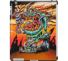 Deep One Hot Rod iPad Case/Skin