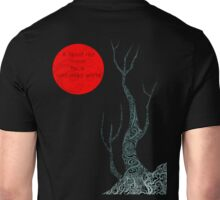 A blood red moon for a cold dead world. Unisex T-Shirt