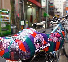 Dutch art shoe exploring Tokyo by LoveDutchArtEbs