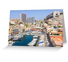 Vallon des Auffes, Marseilles, France Greeting Card