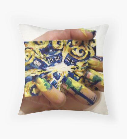 Holding the Big Bang 2 Throw Pillow