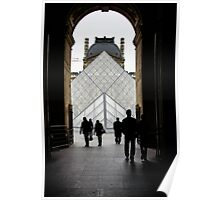 Going to the Louvre Poster