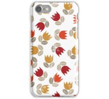 messy red tulips iPhone Case/Skin